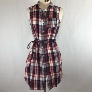 Love Tree  flannel dress size Medium